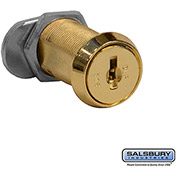 Salsbury Replacement Lock Gold Finish Door Cylinder 11115 - for Solid Oak Executive Wood Locker Door