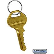Salsbury Master Control Key 11116 - for Built-In Key Lock of Solid Oak Executive Wood Locker