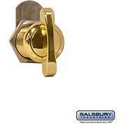 Salsbury Thumb Latch Door 11119 - for Solid Oak Executive Wood Locker Gold Finish