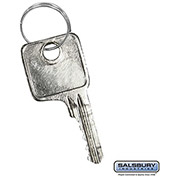 Salsbury Master Control Key 11121 - for Combination Padlock of Solid Oak Executive Wood Locker