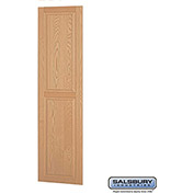 "Salsbury Side Panel 11135 - for 21"" Door Deep Solid Oak Executive Wood Locker, Light Oak"