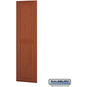 "Salsbury Side Panel 11135 - for 21"" Door Deep Solid Oak Executive Wood Locker, Medium Oak"