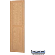 "Salsbury Side Panel 11137 - for 24"" Door Deep Solid Oak Executive Wood Locker, Light Oak"