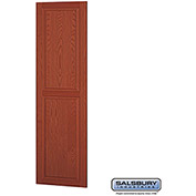 "Salsbury Side Panel 11137 - for 24"" Door Deep Solid Oak Executive Wood Locker, Medium Oak"