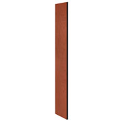 "Salsbury Side Panel 22233 for 18""D Extra Wide Designer Wood Locker without Sloping Hood Cherry"