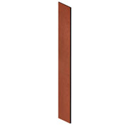 "Salsbury Side Panel 22234 for 18""D Extra Wide Designer Wood Locker with Sloping Hood Cherry"