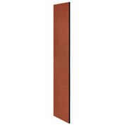 """Salsbury Side Panel 22235 for 21""""D Extra Wide Designer Wood Locker without Sloping Hood Cherry"""