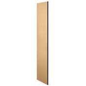 """Salsbury Side Panel 22235 for 21""""D Extra Wide Designer Wood Locker without Sloping Hood Maple"""