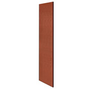 "Salsbury Side Panel 22237 for 24""D Extra Wide Designer Wood Locker without Sloping Hood Cherry"