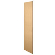 "Salsbury Side Panel 22237 for 24""D Extra Wide Designer Wood Locker without Sloping Hood Maple"