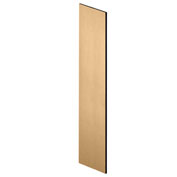 "Salsbury Side Panel 22238 for 24""D Extra Wide Designer Wood Locker with Sloping Hood Maple"