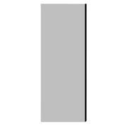 """Salsbury Double End Side Panel 22242 for 24""""D Extra Wide Designer Wood Locker Gray"""