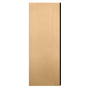 """Salsbury Double End Side Panel 22242 for 24""""D Extra Wide Designer Wood Locker Maple"""