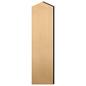 "Salsbury Double End Side Panel 22244 for 18""D Extra Wide Designer Wood Locker W/Sloping Hood Maple"