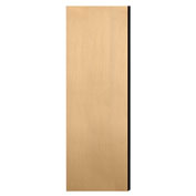 "Salsbury Double End Side Panel 22245 for 21""D Extra Wide Designer Wood Locker Maple"