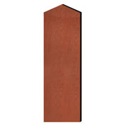 """Salsbury Double End Side Panel 22246 for 21""""D Extra Wide Designer Wood Locker W/Sloping Hood Cherry"""