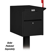 Salsbury Locking Security Mailbox 4350BLK - Black, USPS Approved