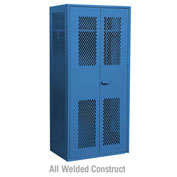 "Salsbury Military TA-50 Storage Locker 7150 - 36""W x 24""D x 78""H Blue"