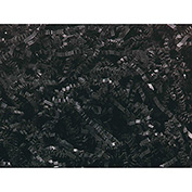 Spring Fill Decorative Filler C10BK Crinkle Cut, Black, 10 Lb. Box