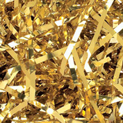 Spring Fill Decorative Filler PV10GO Very Fine Cut, Gold Metallic, 10 Lb. Box
