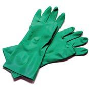 "Dishwashing Glove, Large, 13"", Nitrile Rubber - 12 Pairs"