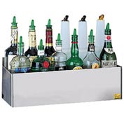 San Jamar Speed Rack, Holds (20) Quart/Liter Bottles, Double Tier B5542D