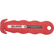 San Jamar KK403 Klever Kutter Box Cutter, Red, NSF, 3 Pack