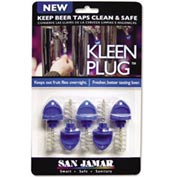 Kleen Plug™, Use To Keep Beer Taps Clean Overnight