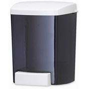 San Jamar Soap Dispenser 30 Oz. Bulk Foam, Classic Black Pearl - SF30TBK - Pkg Qty 6