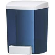 San Jamar Soap Dispenser 30 Oz. Bulk Foam, Classic Arctic Blue - SF30TBL - Pkg Qty 6