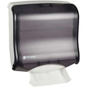 San Jamar Ultrafold™ Fusion™ Touchfree Multi/C-Fold Towel Dispenser, Black Pearl-T1755TBK