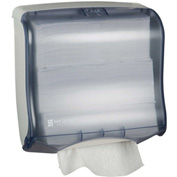San Jamar Ultrafold™ Fusion™ Touchfree Multi/C-Fold Towel Dispenser, Arctic Blue-T1755TBL