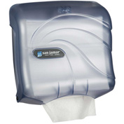 San Jamar Ultrafold Touchfree Multifold/C-Fold Towel Dispenser, Oceans Arctic Blue - T1759TBL - Pkg Qty 6