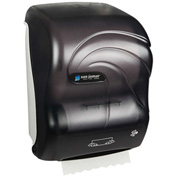 "San Jamar 10"" Simplicity Hands-Free Roll Mechanical Towel Dispenser, Oceans Black Pearl - T7100TBK"
