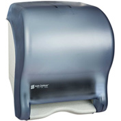 San Jamar Tear-N-Dry Essence™ Automatic Roll Towel Dispenser, Classic Arctic Blue - T8000TBL