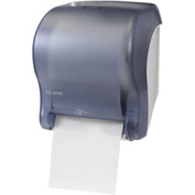 San Jamar Smart Essence™ Electronic Roll Towel Dispenser, Classic Arctic Blue - T8400TBL