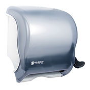 San Jamar Element™ Lever Roll Towel Dispenser, Classic Arctic Blue - T950TBL