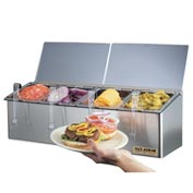 "EZ-Chill® Self-Service Center, 8""h x 25 1/8""w x 7 5/8""d"