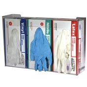 San Jamar G0805 Disposable Glove Dispensers, 3 Box Capacity, Clear