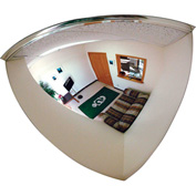 "Se-Kure™ Quarter Dome Mirror, 18"" Diameter - Pkg Qty 4"