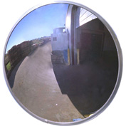 "Se-Kure™ Acrylic Outdoor Convex Mirror, 26"" Diameter"