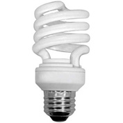 Sunlite® 00608-SU SMS13/65K/CD4 13W Super Mini Spiral CFL Light Bulb, Medium Base, Daylight