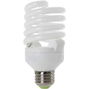 Sunlite® 00621-SU SMS23F/50K 23W Super Mini Spiral CFL Light Bulb, Medium Base, Super White