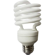 Sunlite® 00633-SU SMS26/65K 26W Super Mini Spiral CFL Light Bulb, Medium Base, Daylight