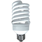 Sunlite® 00672-SU SMS26F/27K 26W Super Mini Spiral CFL Light Bulb, Medium Base, Warm White