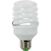 Sunlite® 00685-SU SMS18F/50K 18W Super Mini Spiral CFL Light Bulb, Medium Base, Super White - Pkg Qty 24