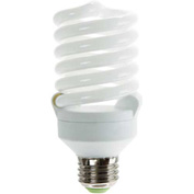 Sunlite® 00714-SU SMS26F/50K 26W Super Mini Spiral CFL Light Bulb, Medium Base, Super White