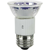 Sunlite 03015-SU 100JDR/MED/FL/120V 100W JDR MR16 Mini Reflector Halogen Bulb, Medium Base - Pkg Qty 12