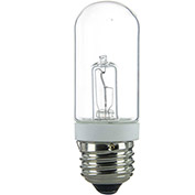 Sunlite 03020-SU 75T10/HAL/CL 75W Single Ended Double Envelope T10 Halogen Bulb Medium Base, Clear - Pkg Qty 12