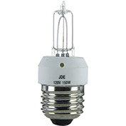 Sunlite 03070-SU 150JDE/CL/MED 150W Single Ended T4 Halogen Bulb, Medium Base, Clear - Pkg Qty 12
